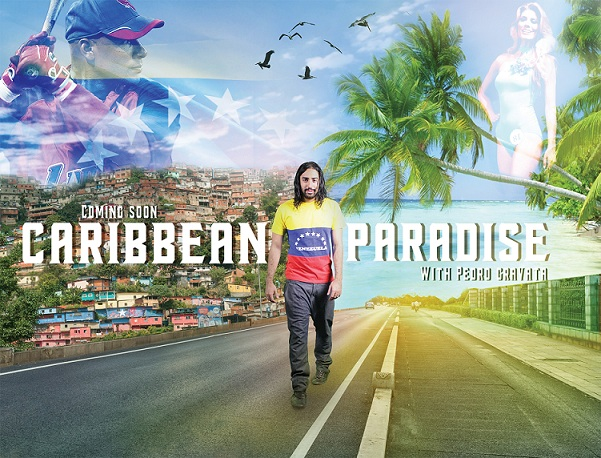 Pedro Gravata now with another movie (Caribbean Paradise)